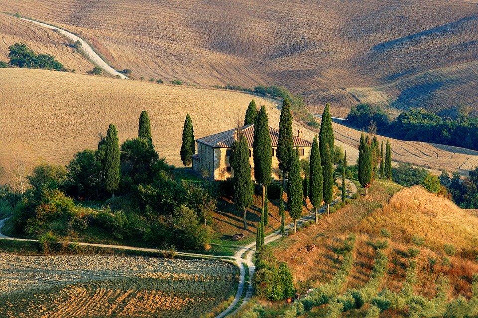 Prava ti stanuje negdje pod suncem Toscane...